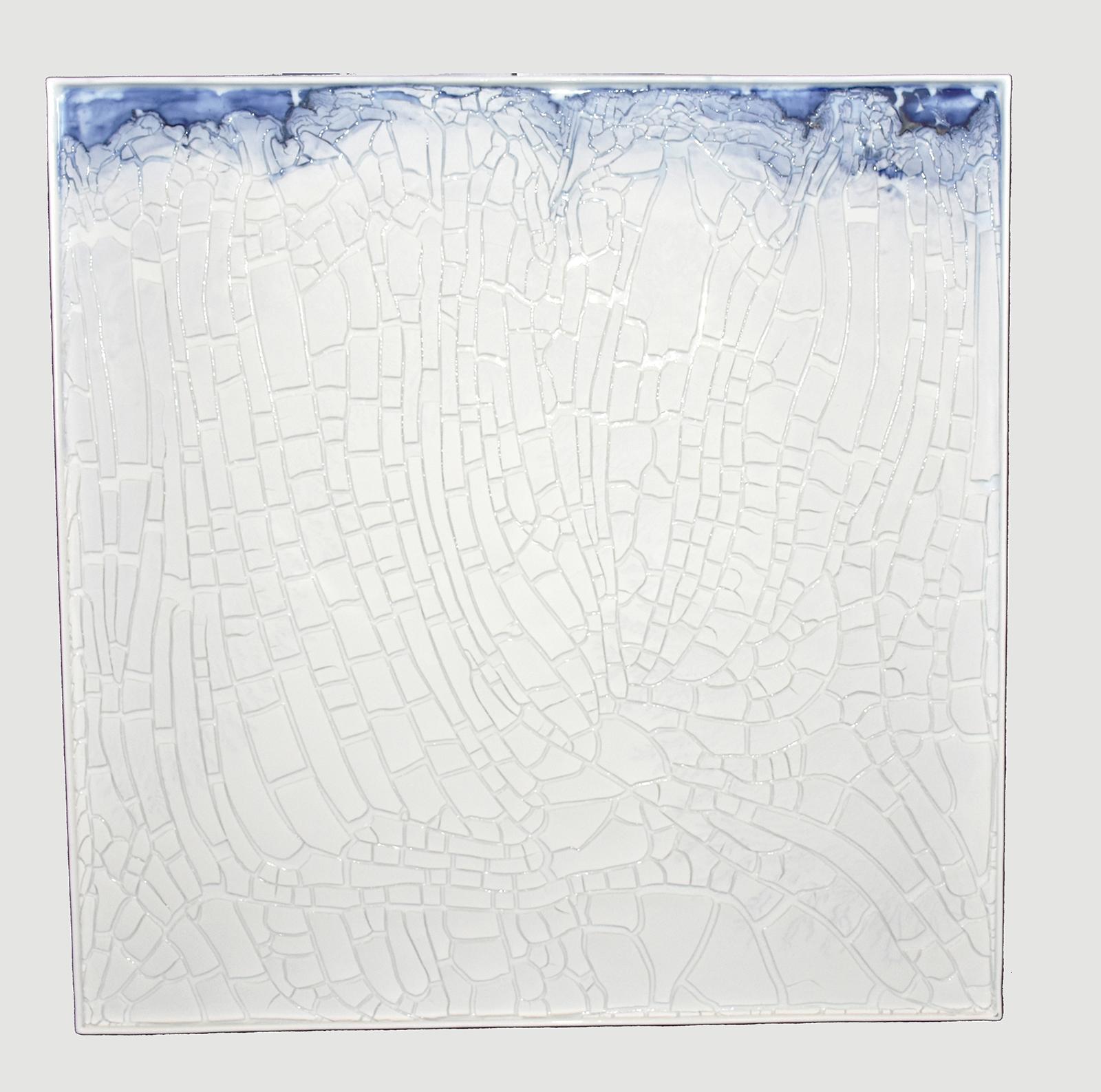 Examples of landscapes 2017 65 x 65 x 1 cm Porcelain