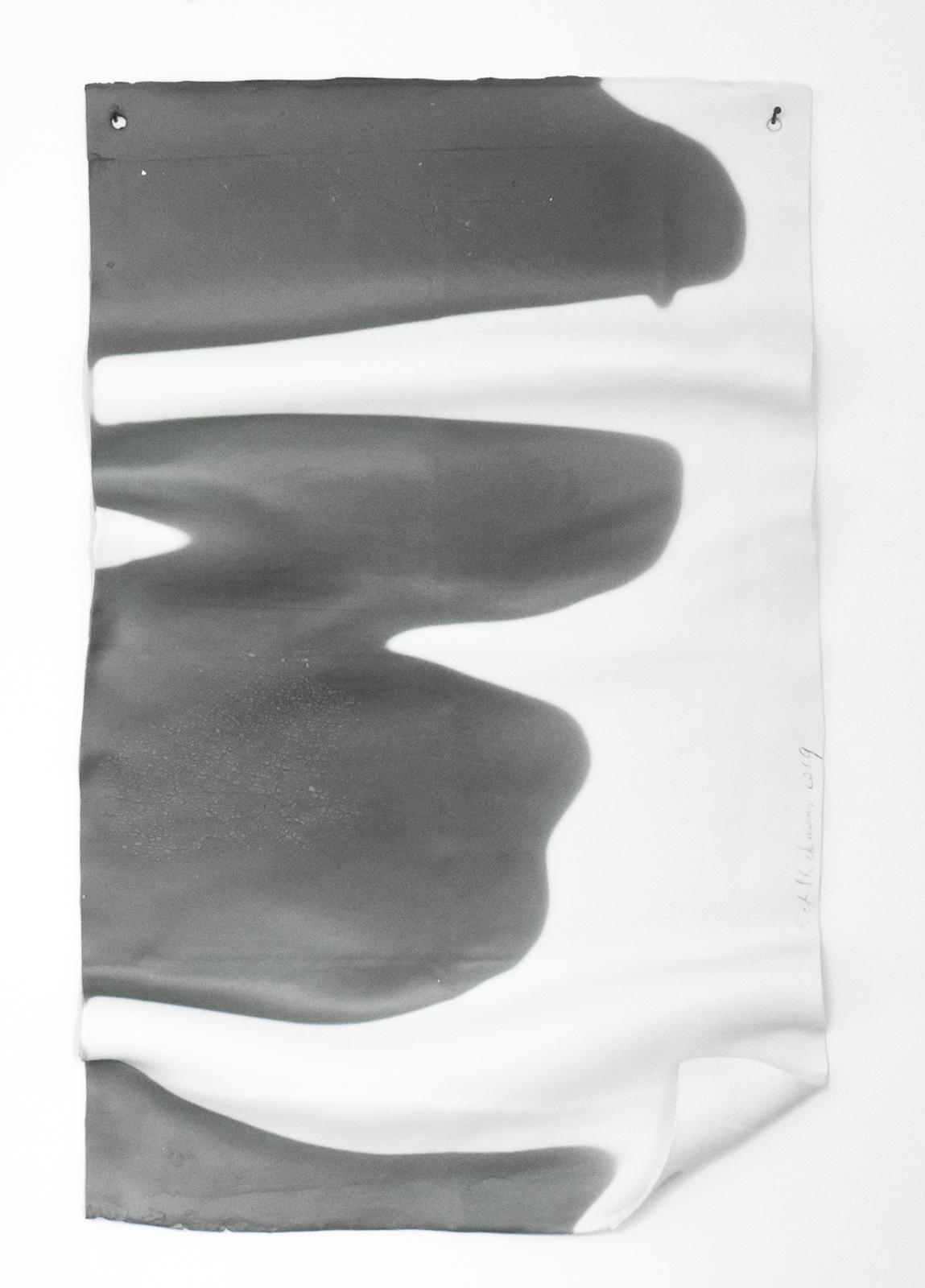 Letter  2019 28 x 48 x 2 cm Porcelain
