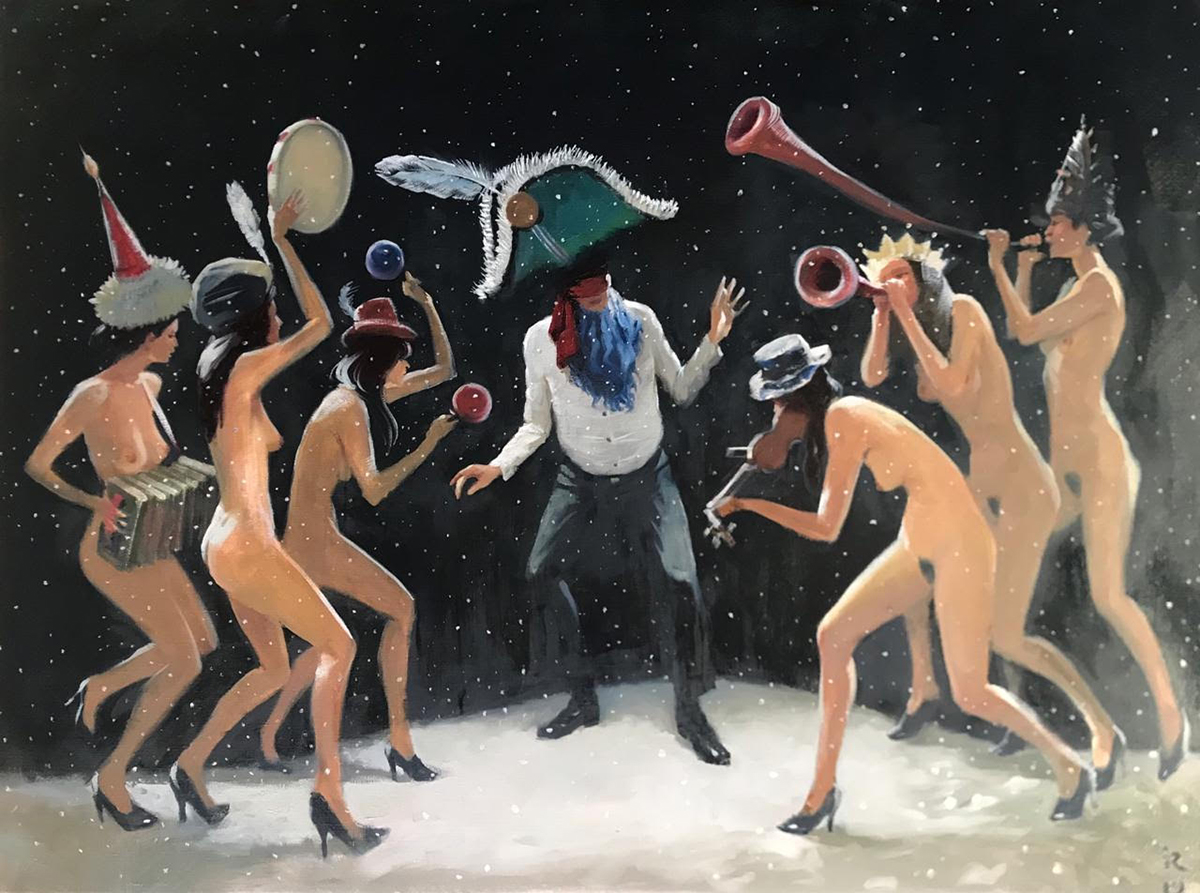 Napoleon and Muses