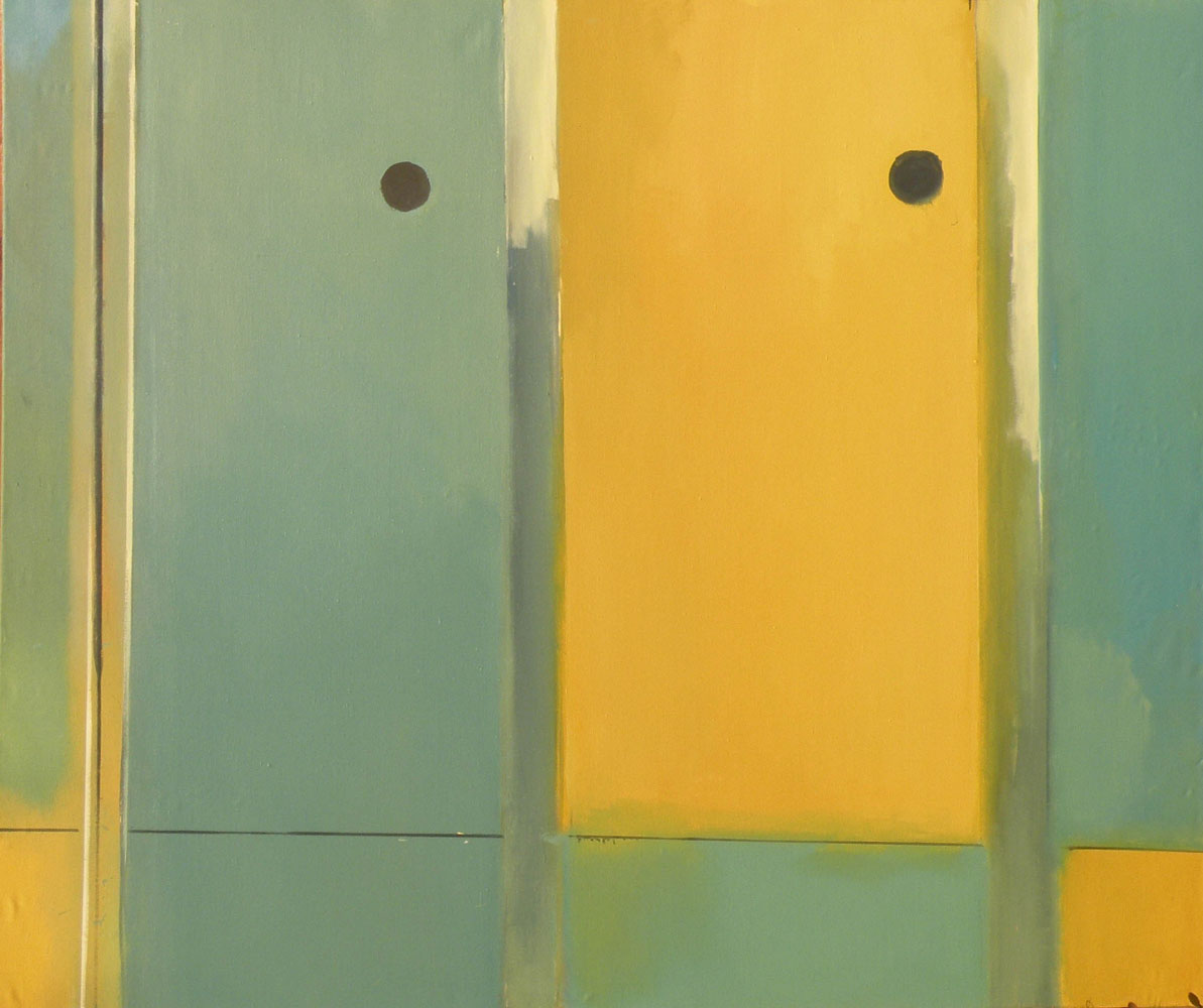 UNTITLED I / from the series LOCKER ROOM, 2011 / oil on canvas / 170 x 200 cm