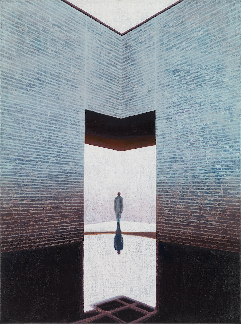 Hans Vandekerckhove / Into the Night / Litho on 310 g paper / 1 out of 8 / 75 x 60 cm framed