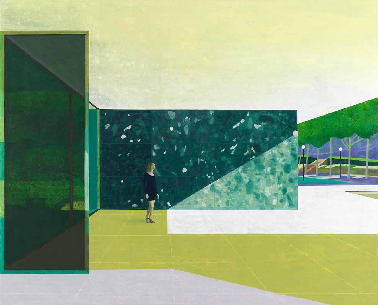 Hans Vandekerckhove / Laura Maria Barcelona / Litho on 310 g paper / 1 out of 8 / 75 x 60 cm framed