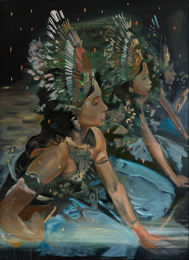 Legony Dancers, 2018, 139,5 x 190 cm, oil on canvas