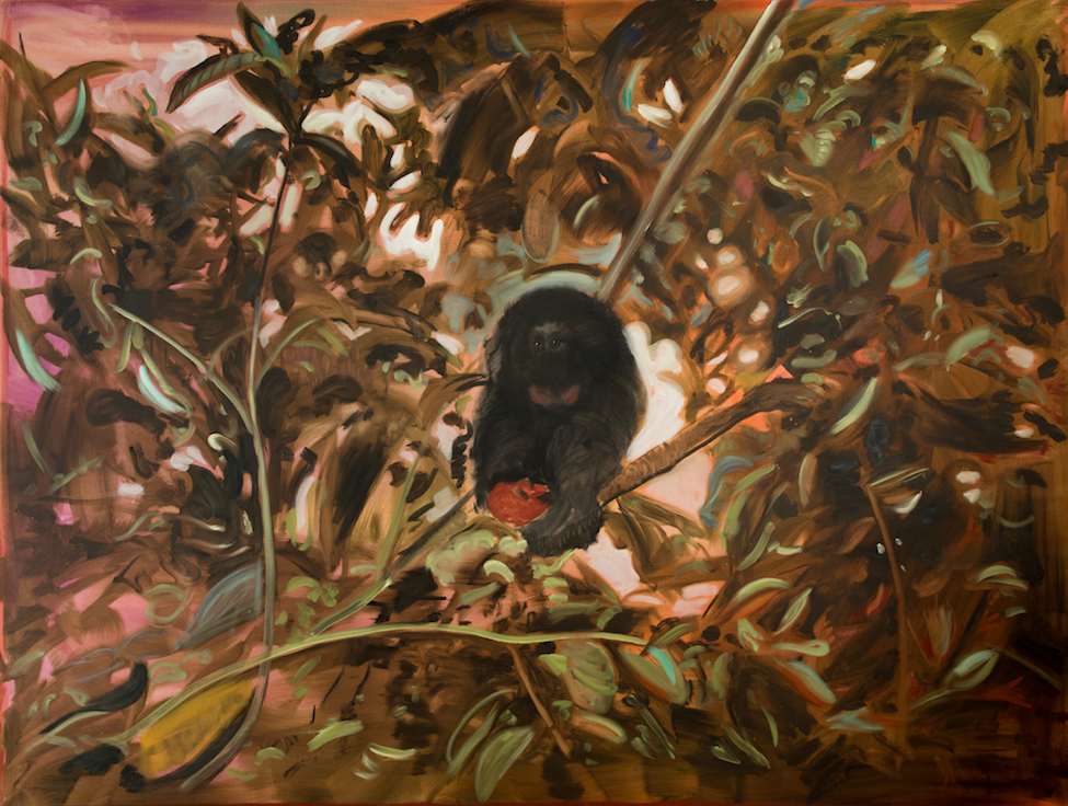 Monkey Business, 2018, 190 x 250 cm, oil on canvas
