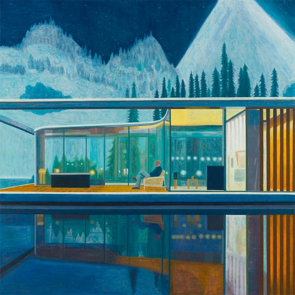 Friedrich's Dream 2, 2018, 200x200 cm, oil on canvas