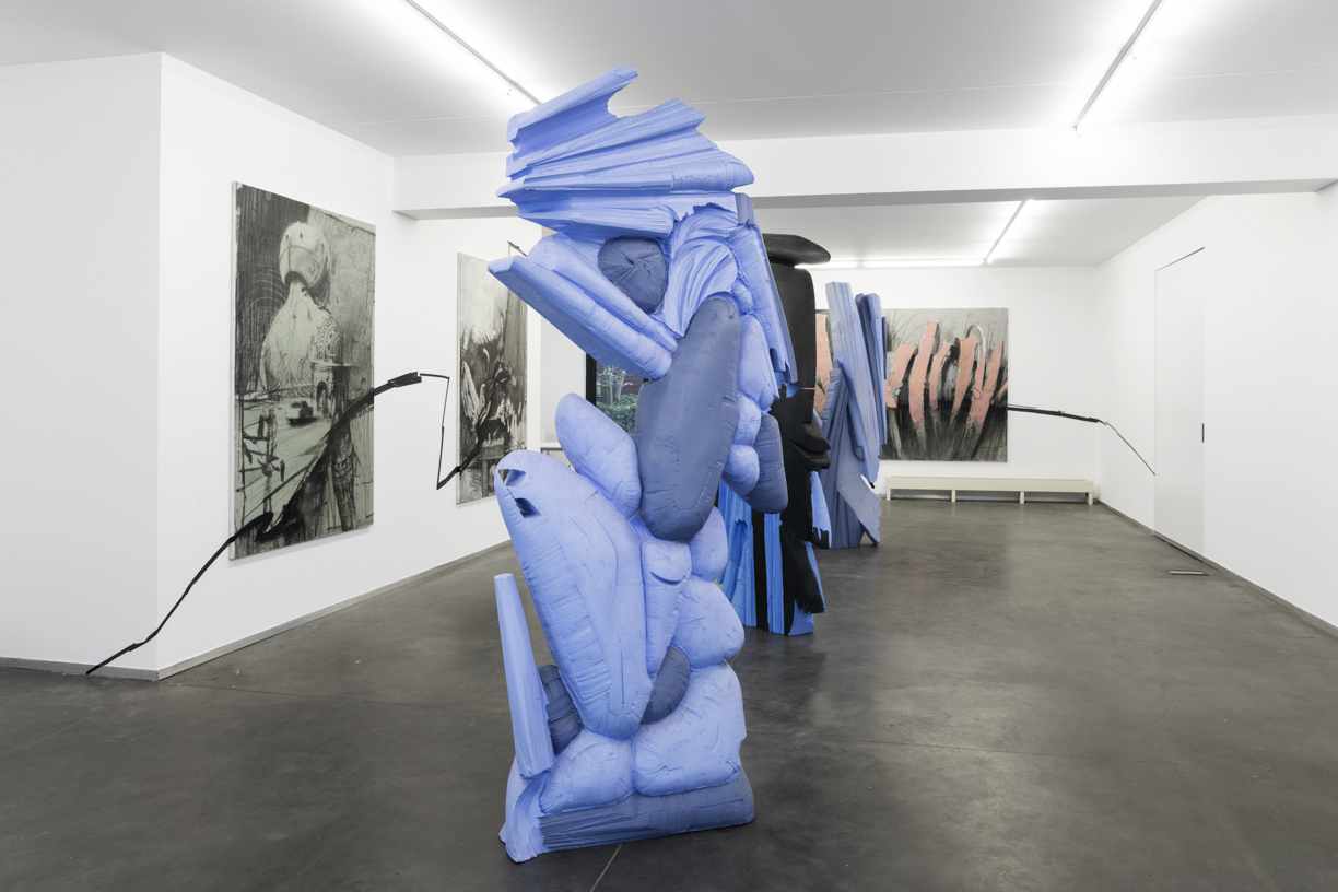 Installation view at NK Gallery Image courtesy of Elio Germani