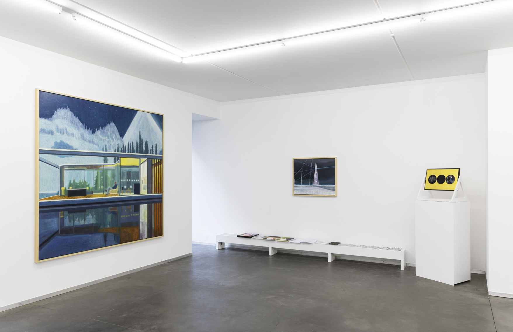 Installation view of Double Dream at NK Gallery