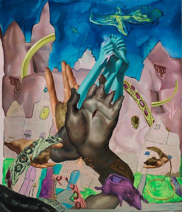 Gesloten Kavel, 2017, 120 x 140 cm, oil on canvas