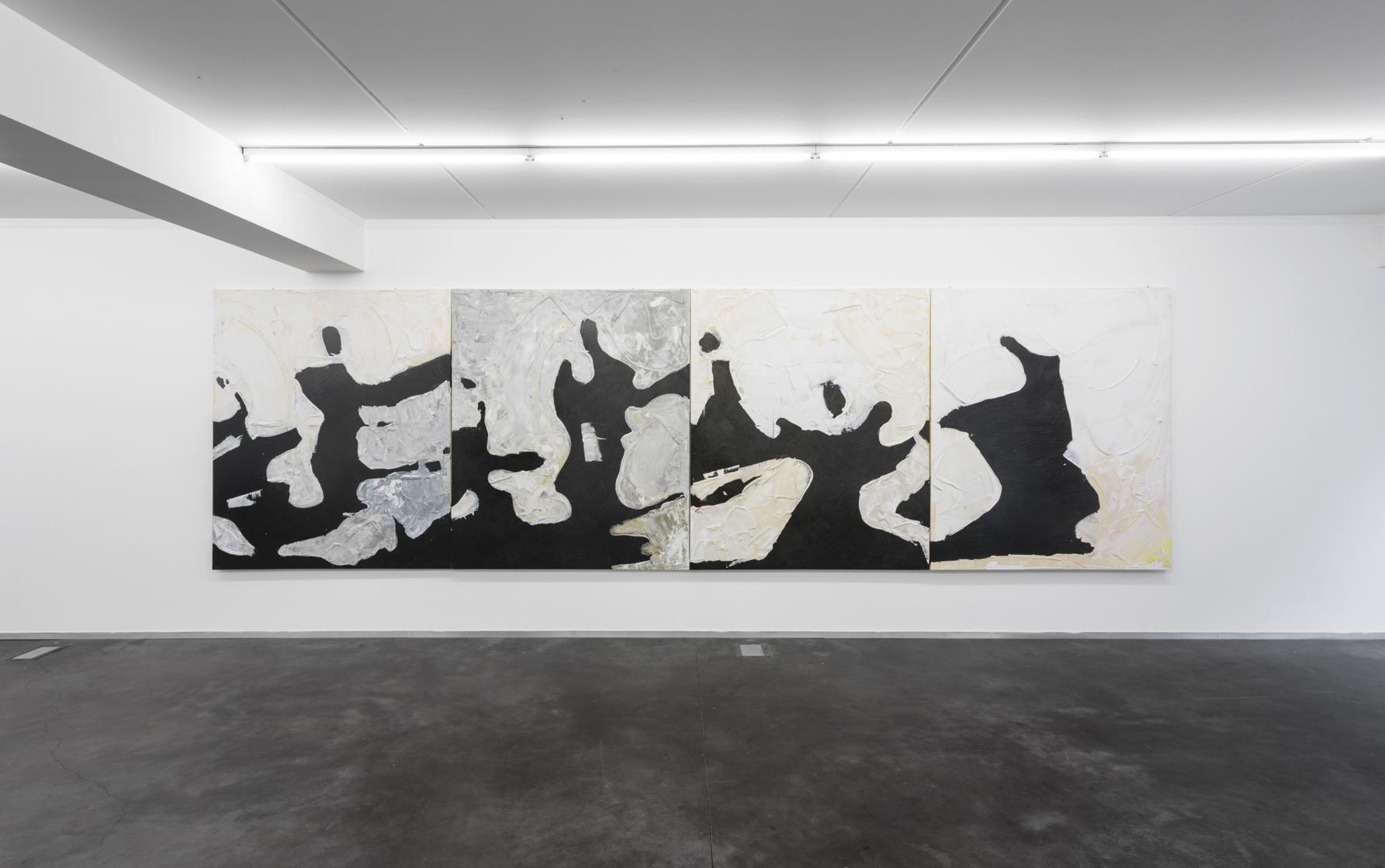 FLAMENCO (4 panels) 2017 200 x 170 cm (each) Oil on canvas