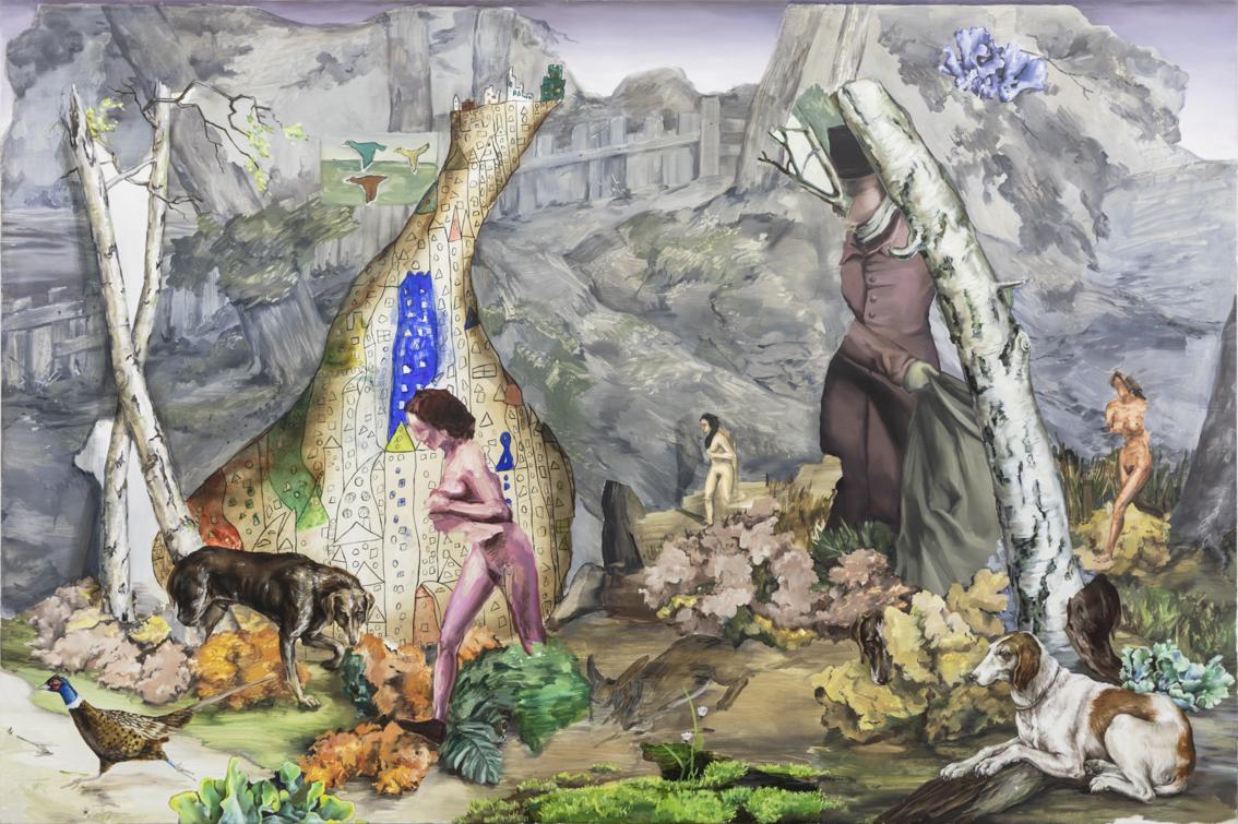 Loslopend Wild 2018 120 x 180 cm  Oil on canvas